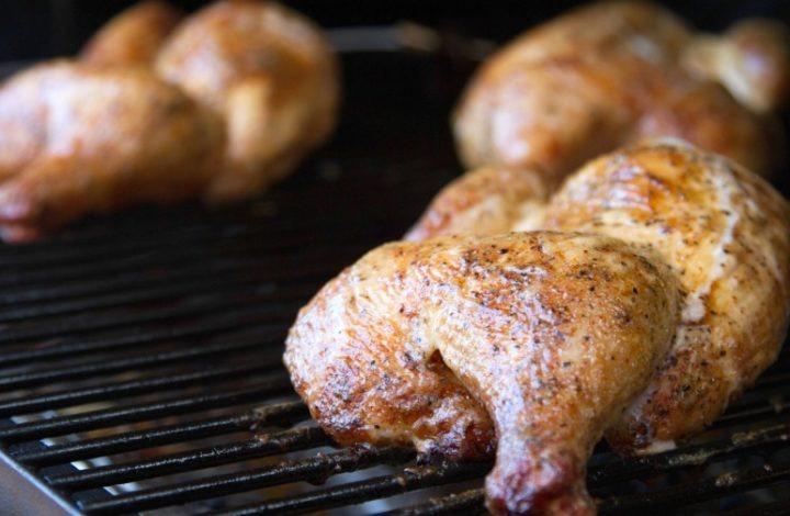 BBQ Chicken With Alabama White Sauce