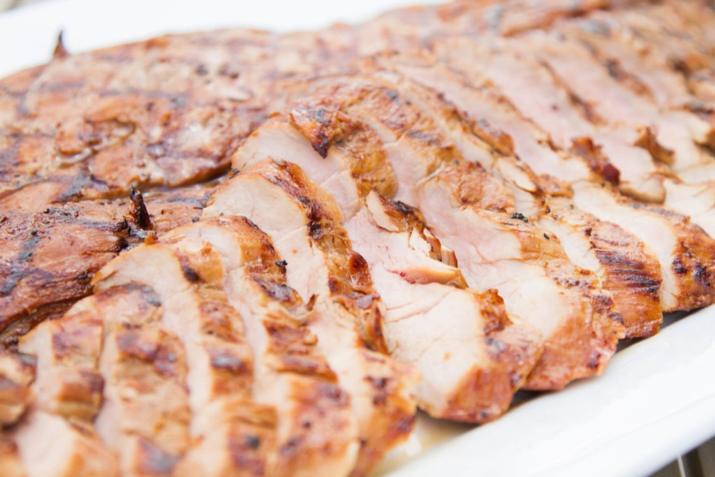 Marinated and Grilled Pork Tenderloin
