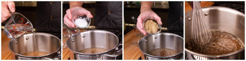 Pork tenderloin temps: brine first