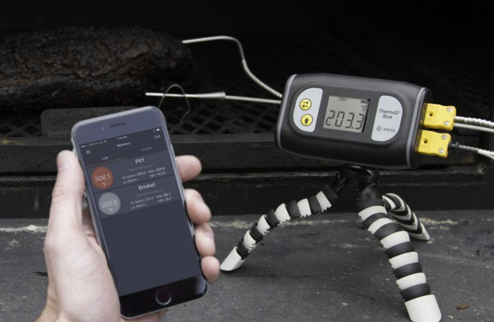 Brisket: Tracking Temperatures Wirelessly!