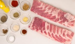 Competition Ribs Ingredients Edit