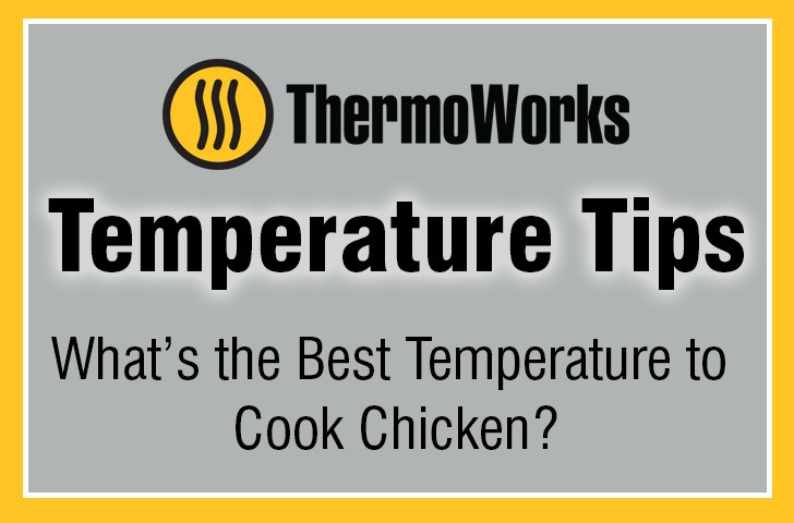 What temperature to cook Chicken Banner