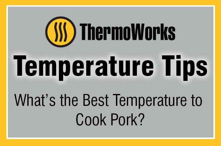 What temperature to cook pork