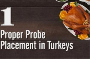 Proper Probe Placement in Turkeys