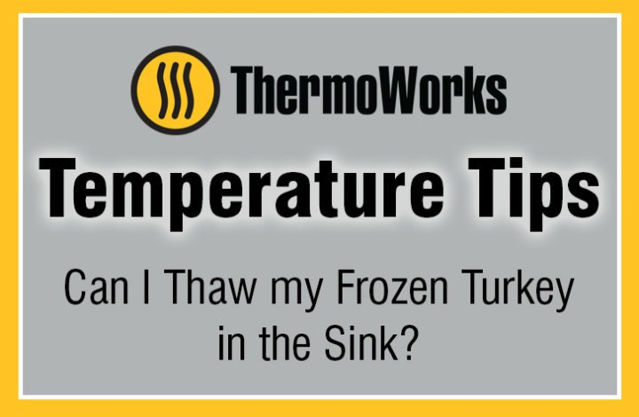 Can I Thaw Frozen Turkey in the Sink?