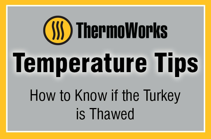 How to know if turkey is thawed banner