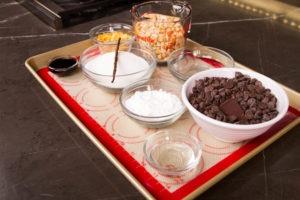 Ingredients for Butterfinger bars