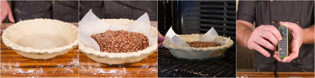 Blind bake your pie crust