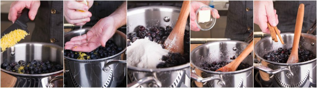 Blueberry jam needs pectin