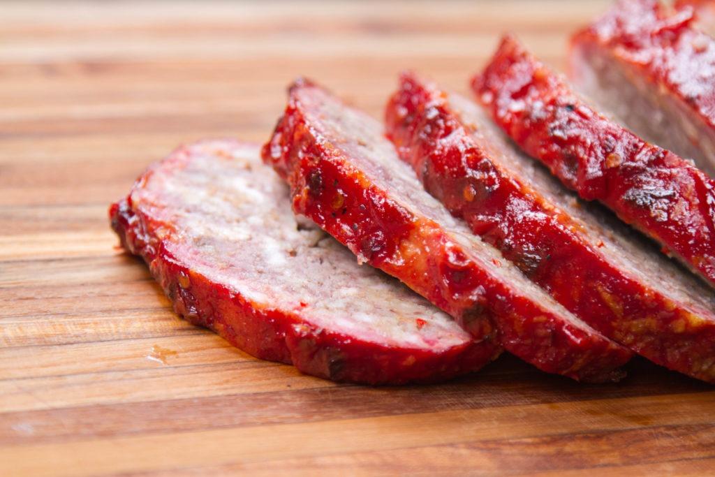 Tender, tasty smoked meatloaf