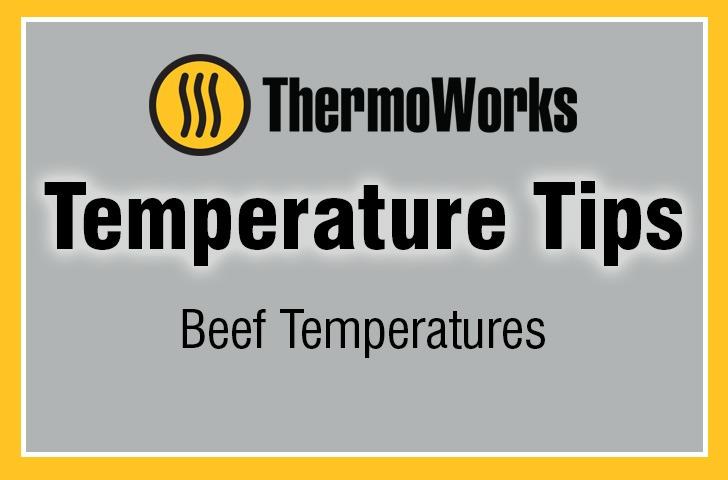 Beef Temperatures