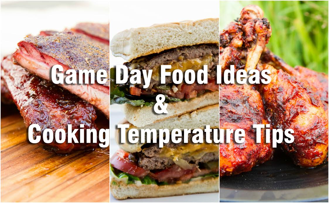 Game Day Food Ideas Header Image