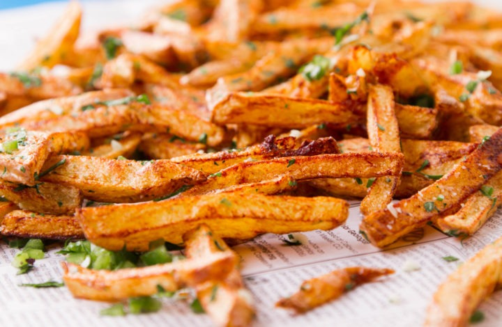 Easiest Homemade French Fries