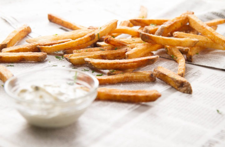 Homemade French Fries, Background and History