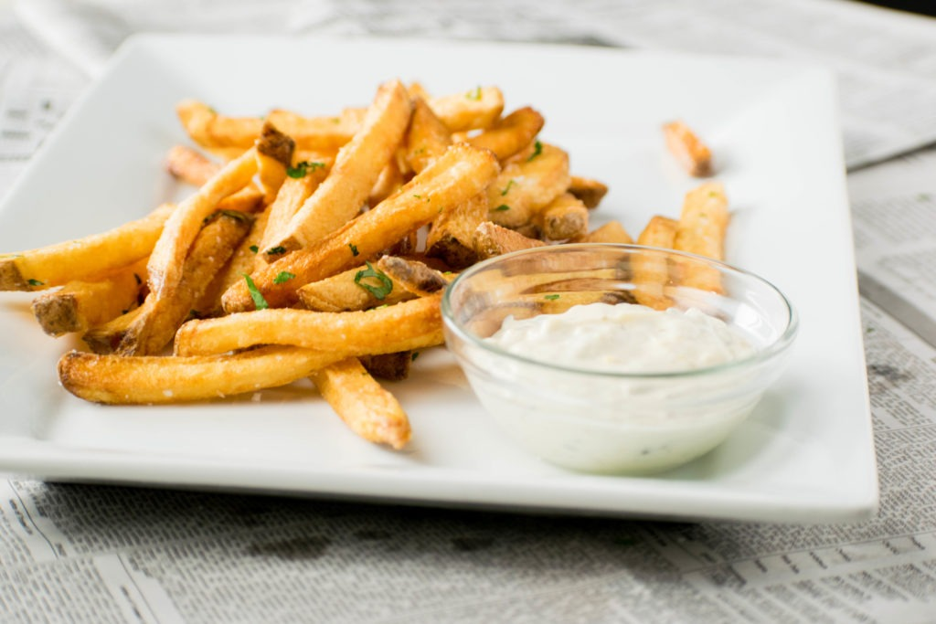 That's how to make Homemade French fries