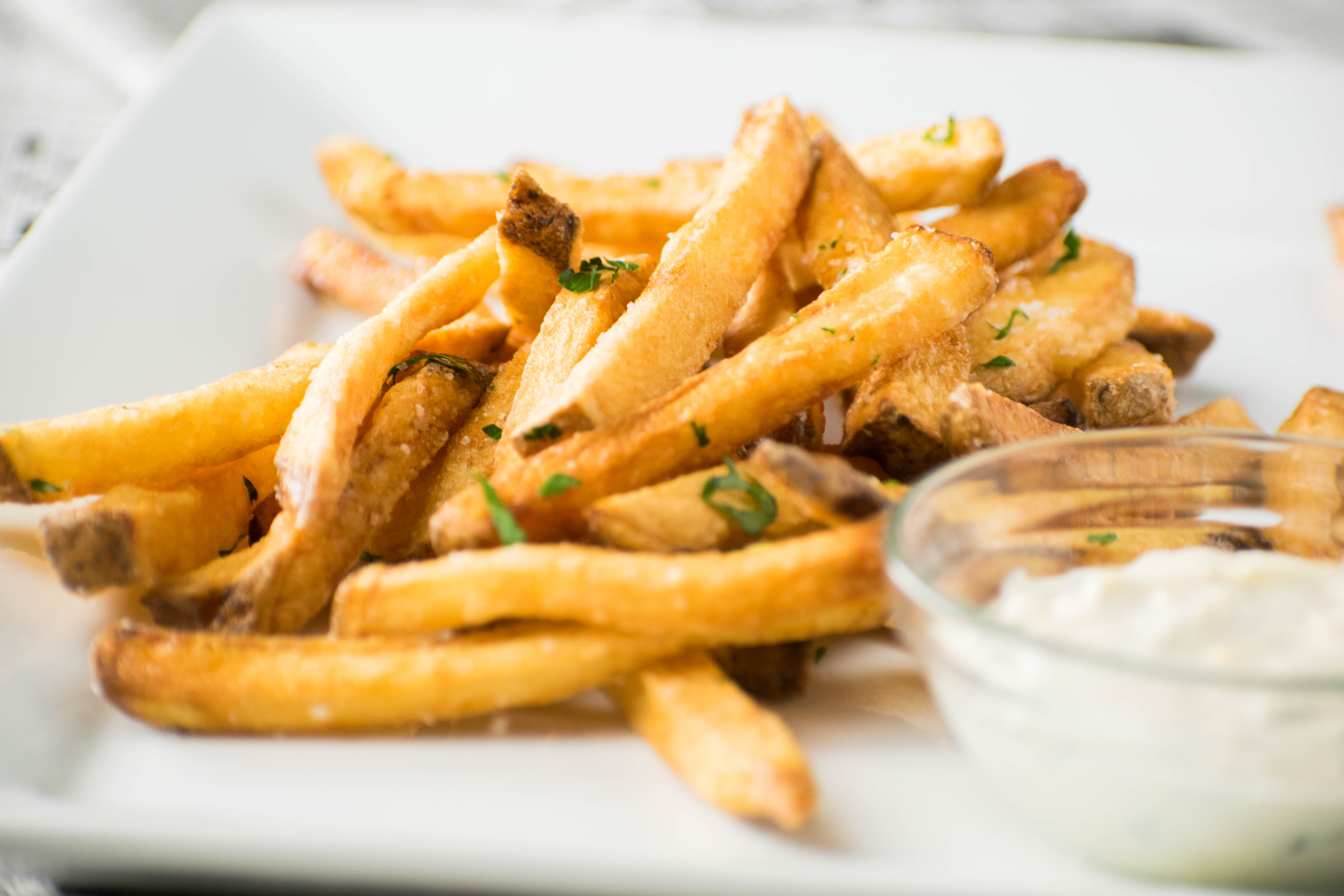 Homemade French Fries Golden And Crisp Thermoworks