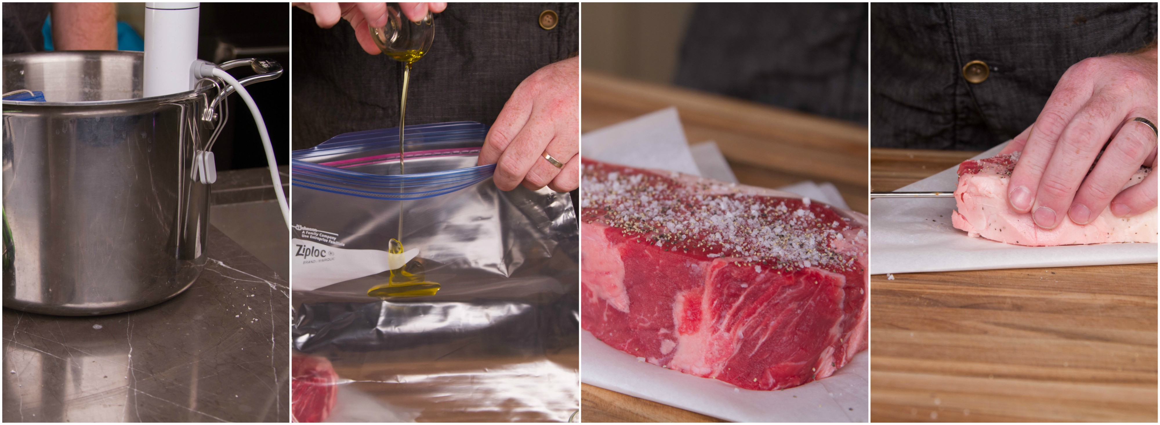 how to cook a steak sous vides