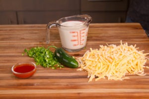 Chili cheese fries cheese sauce ingredients