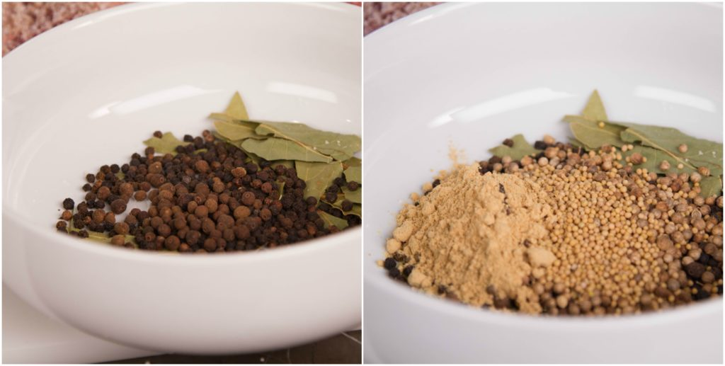 Spice mixture for homemade corned beef