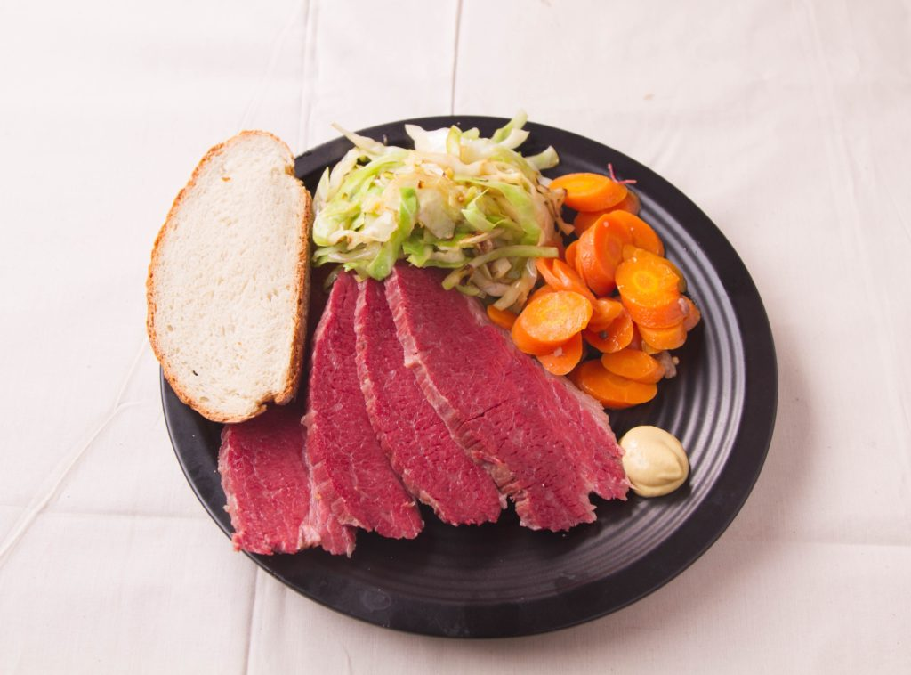 Corned Beef and Cabbage for St. Patrick's Day