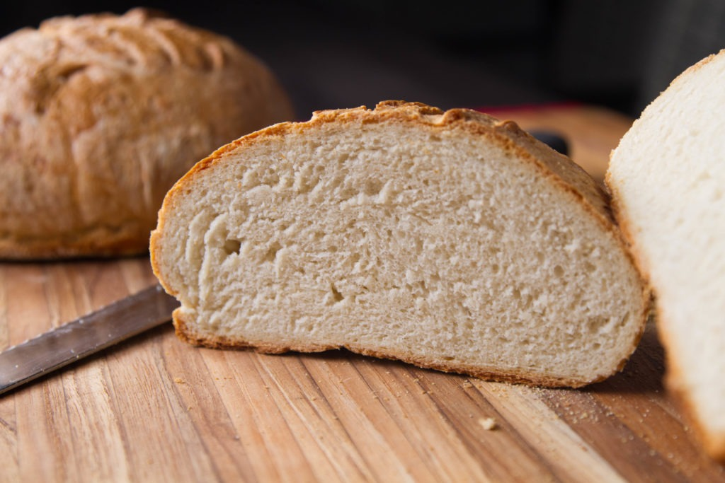 Fresh homemade bread recipe