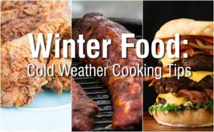Winter Food and Temperature Tips Blog Post