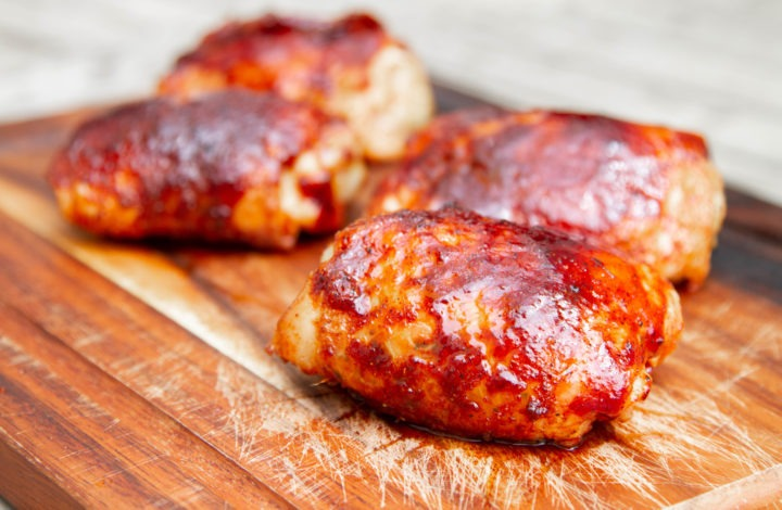 BBQ Chicken Thighs: Temperature Surprises Plus Competition Trimming