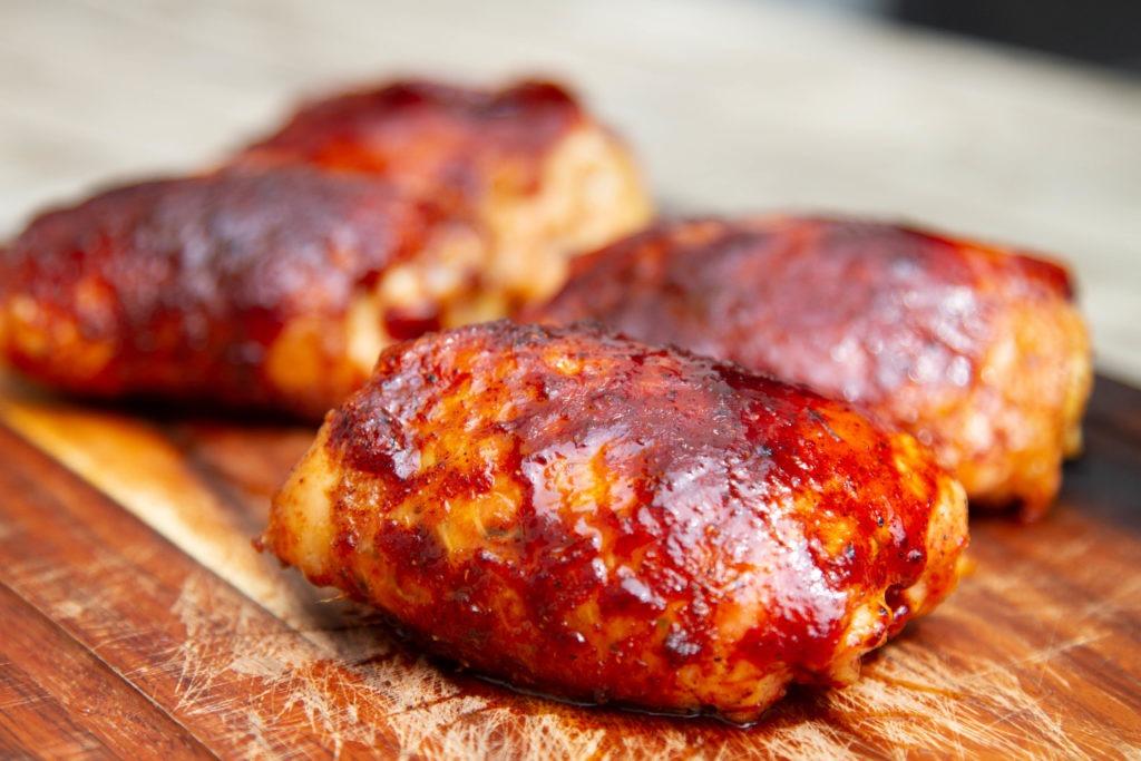 BBQ chicken thigh recipe