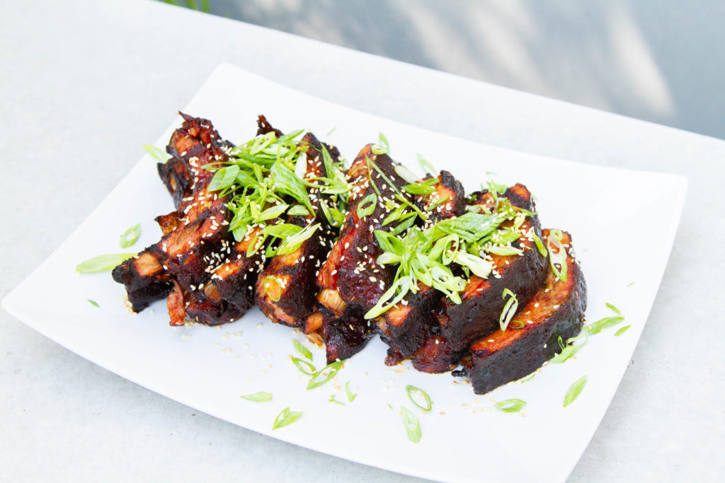 Smoked Asian Sticky Ribs