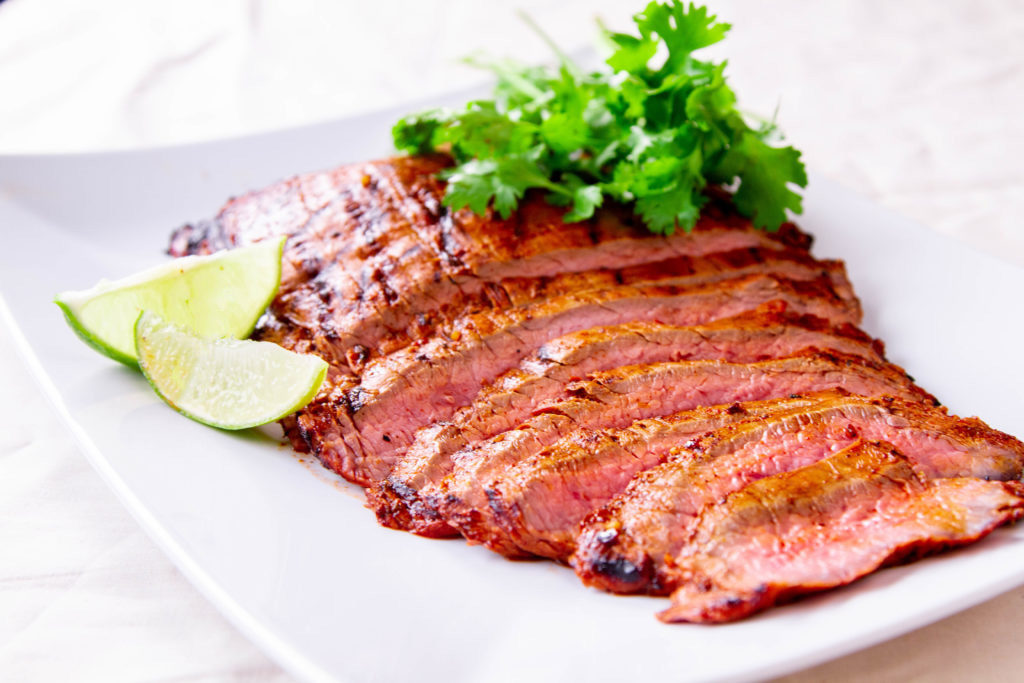 Chipotle grilled flank steak recipe