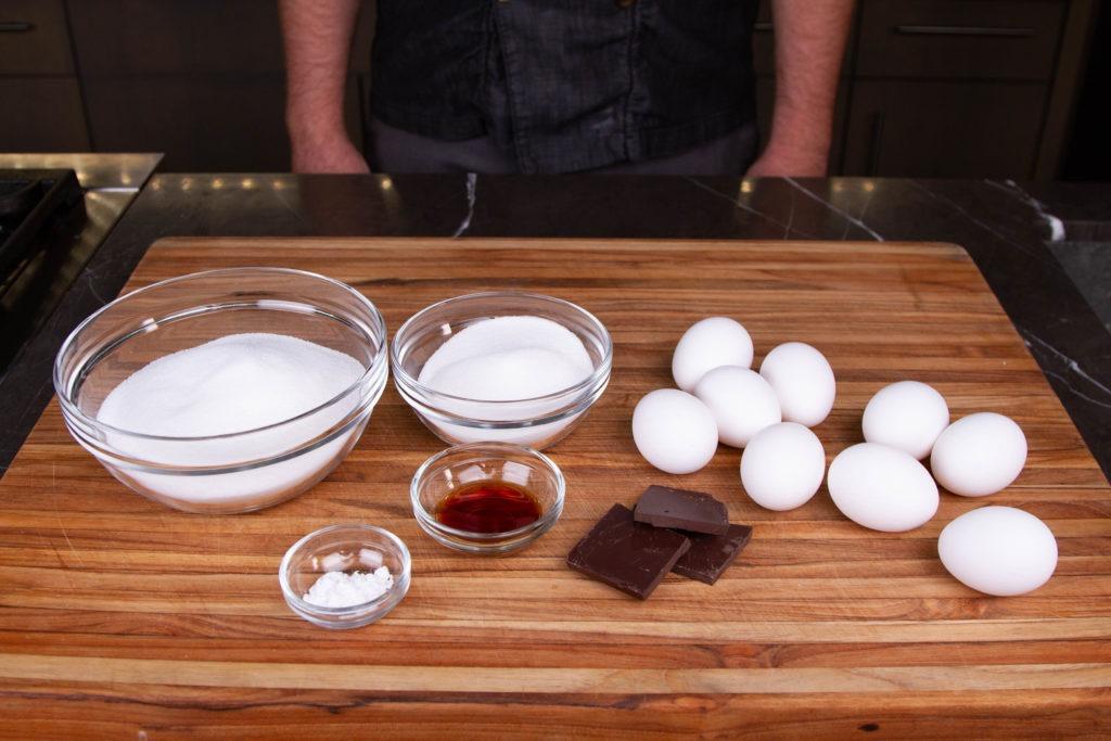 Simple ingredients for meringues