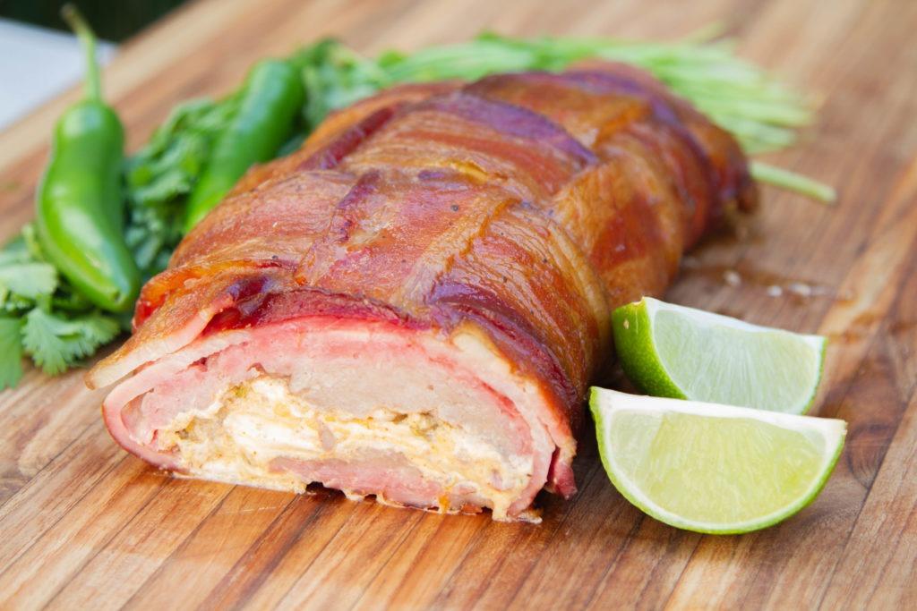 Green chile pork fatty recipe