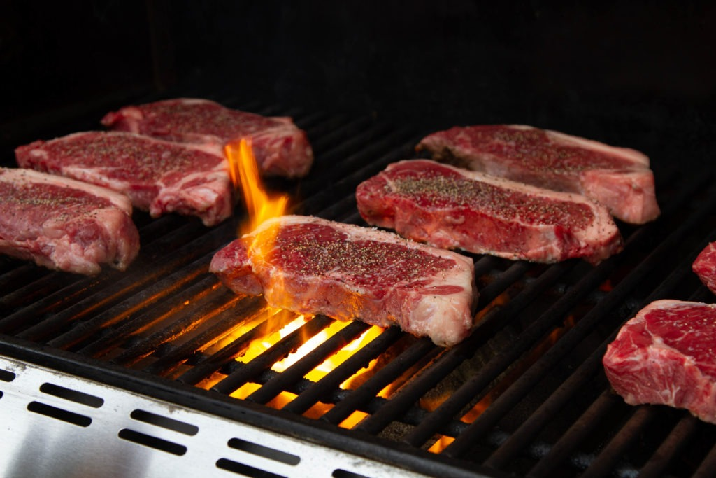 How to grill with a leave-in probe thermometer