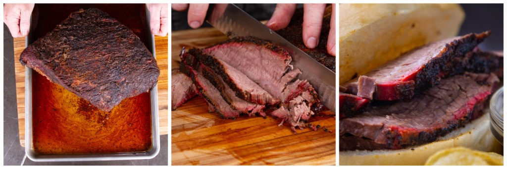 Smoked brisket: a tailgate favorite in half the time