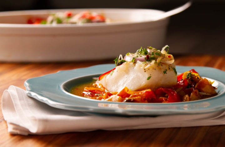 Slow roasted cod recipe with temperature tips