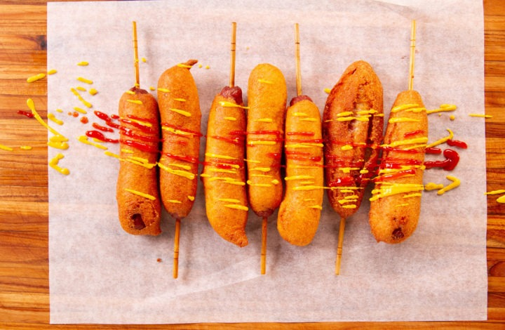 Homemade corn dog recipe