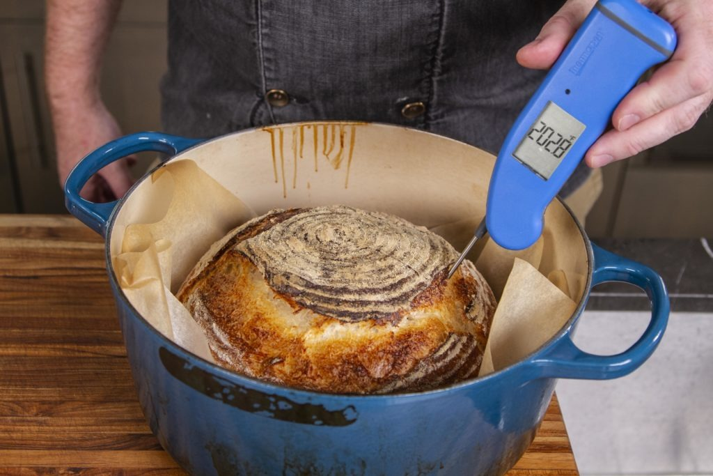 Verify the doneness temp with a Thermapen Mk4
