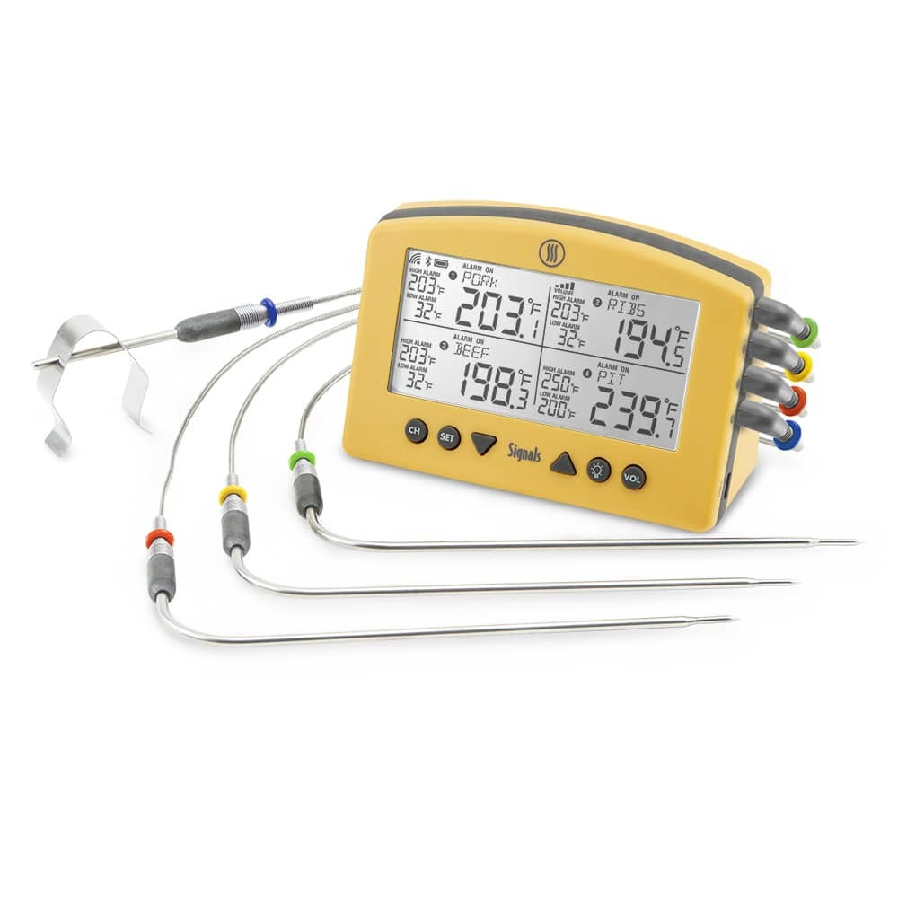 Signals multi-channel thermometer