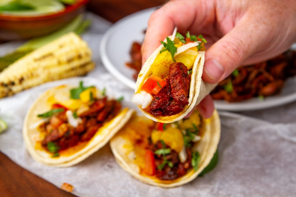 An image of tacos al pastor