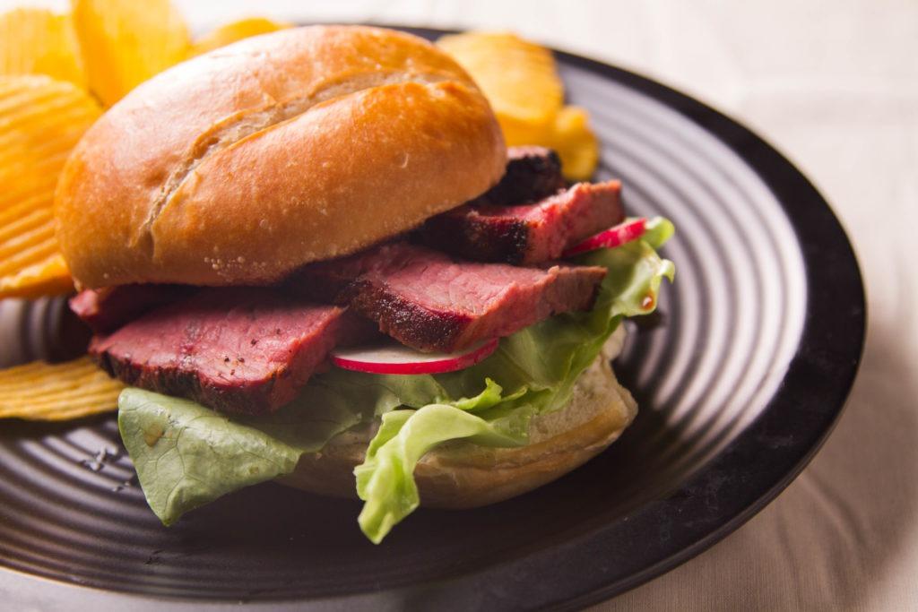 Tri-tip sandwich...yum