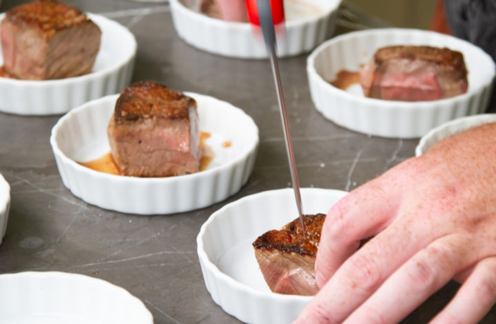 Temping Steak