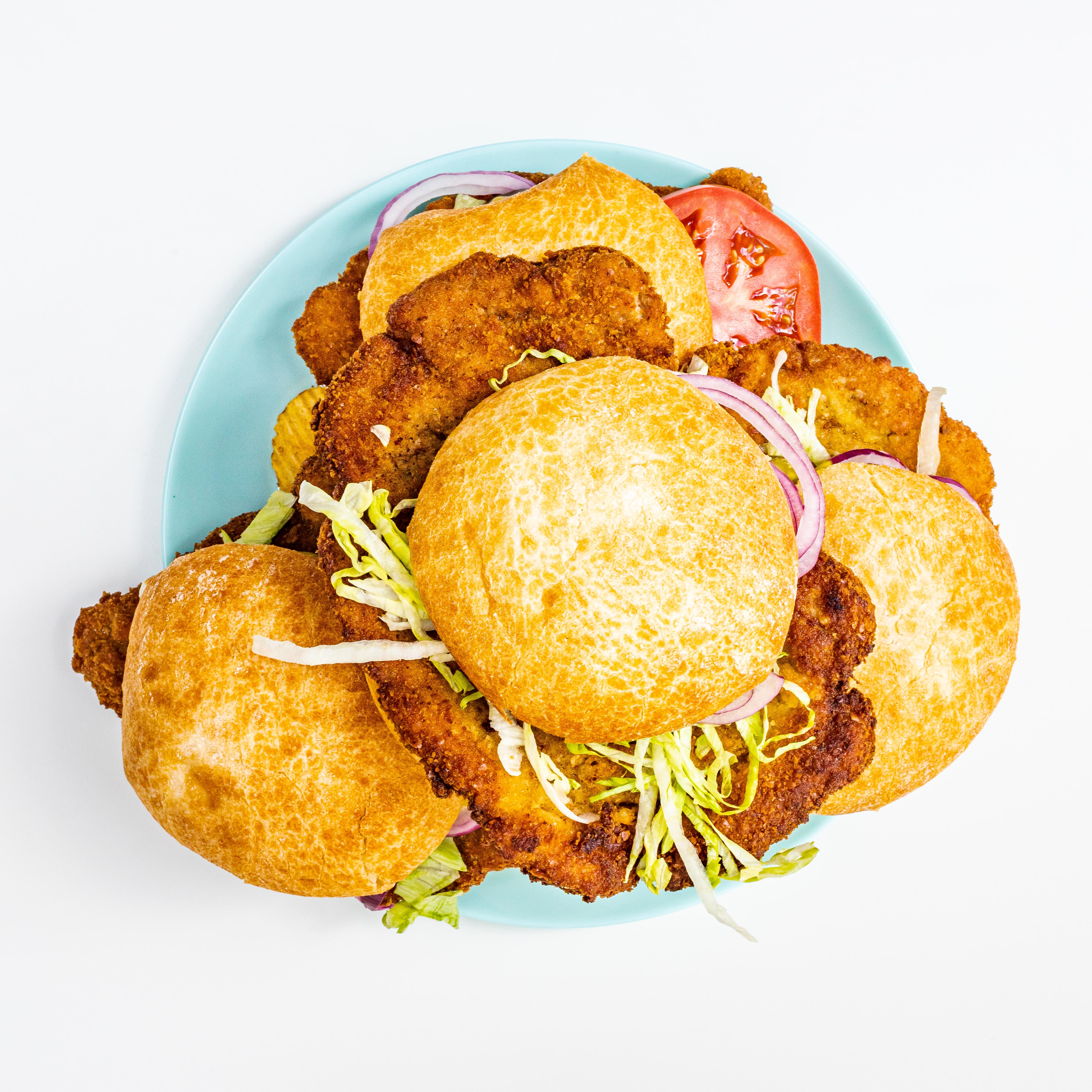 Fried Pork Tenderloin Sandwiches—temps and all | ThermoWorks