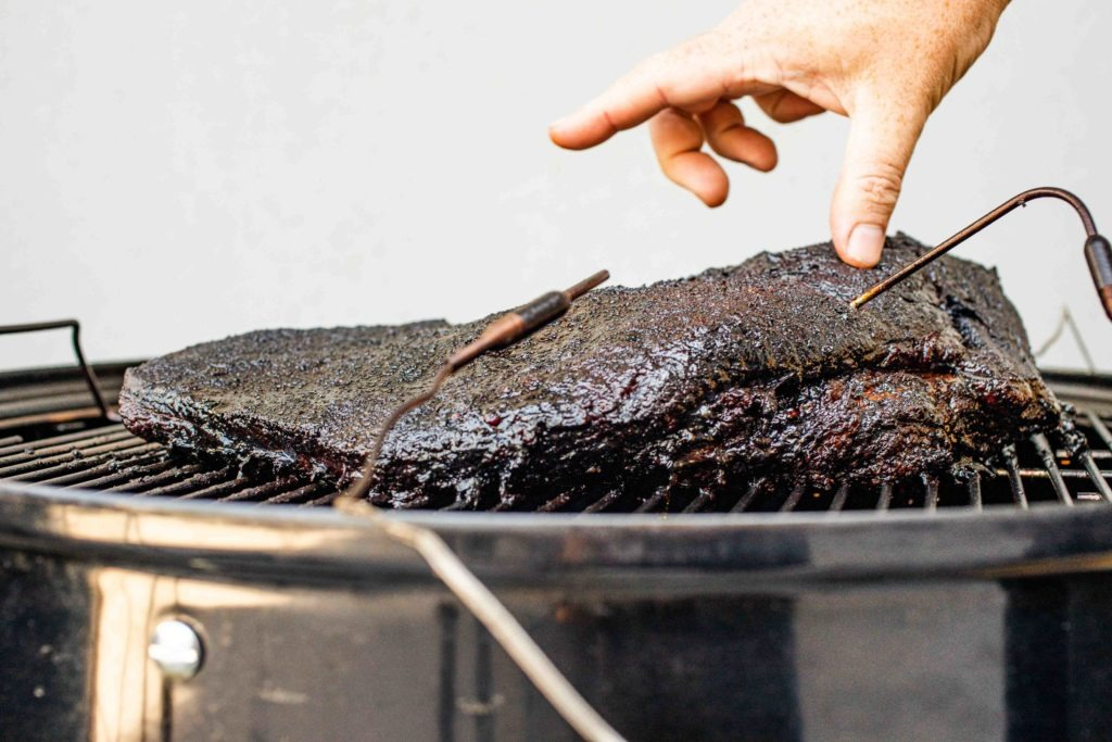 A brisket with Pro-series probes