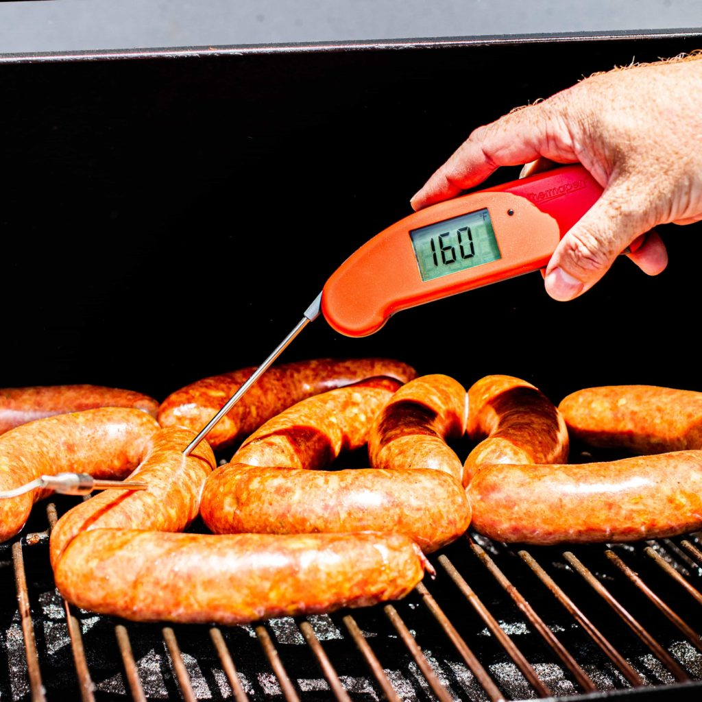 Verify the temperature with a Thermapen Mk4