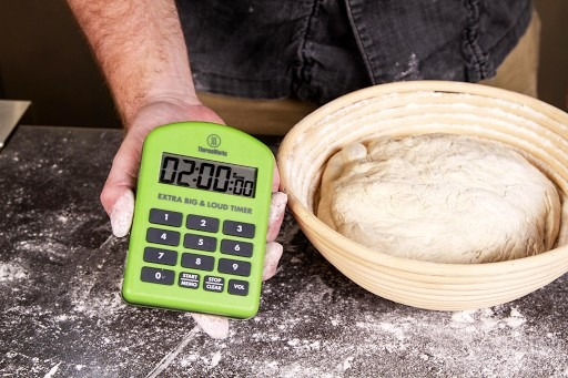 Extra Big and Loud Timer and Sourdough