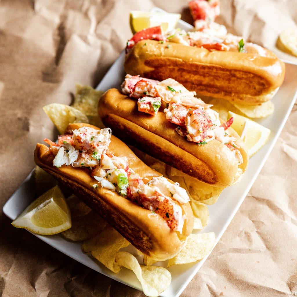 Sandwich royalty: the lobster roll