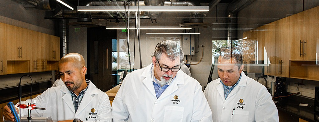 Chief Metrologist Tom Wiandt and other Certified Lab Technicians