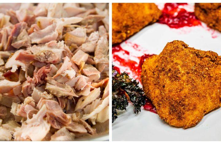 turkey leftovers to turkey croquettes