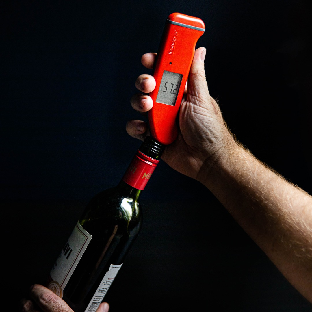 Temping red wine