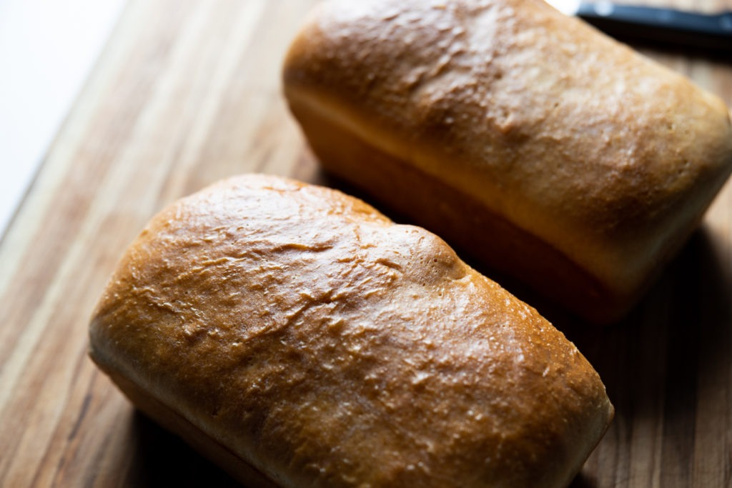 fresh, warm, homemade bread